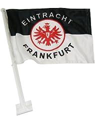 Trade Con Autofahne Eintracht Frankfurt, Schwarz/Weiss/Rot, 30x45cm