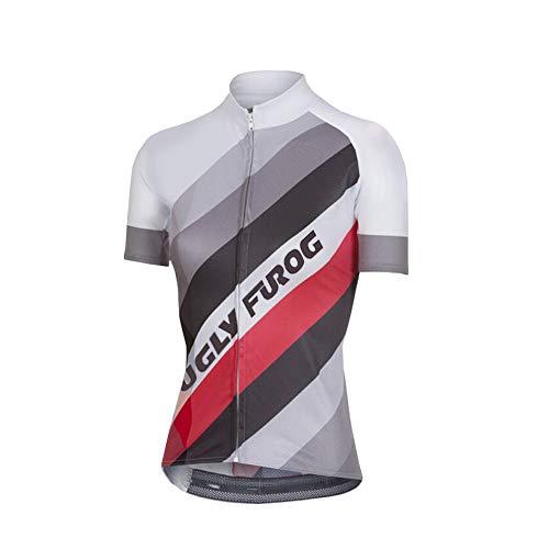 Uglyfrog Radtrikot Frauen Mountain Bike Trikot Shirts Kurzarm Rennrad Kleidung MTB Tops Sommer Sommer Kleidung