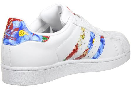 Adidas Adidassuperstar W - Chaussons Femme Blanche