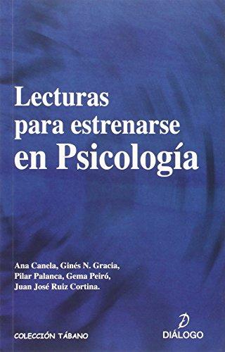 Lecturas para estrenarse en psicología (Tábano) - 9788496976764