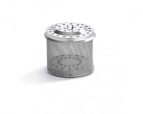 LotusGrill Ersatz Edelstahl-Kohlebehälter! Speziell entwickelt für den rauchfreien Holzkohlegrill/Tischgrill