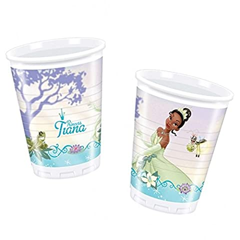x10 Princess And The Frog Plastic Cups ~ Tiana Birthday Party - Tableware & Decorations
