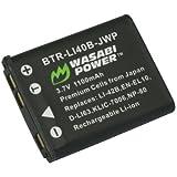 Wasabi Power Battery for Fujifilm NP-45 NP-45A NP-45B NP-45S and Fuji FinePix J10 J12 J15 J15fd J20 J25 J26 J27 J30 J35 J38 J40 J100 J110W J120 J150W J210 J250 JV100 JV105 JV150 JV155 JV160 JV200 JV205 JV250 JV255 JX200 JX205 JX250 JX255 JX280 JX300 JX305 JX350 JX355 JX360 JX370 JX375 JX380 JX400 JX405 JX420 JX500 JX520 JX530 JX540 JX550 JX580 JX