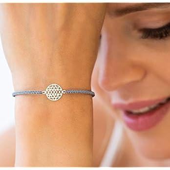 Glücksbringer Shri Yantra Armband 925 Geschenk