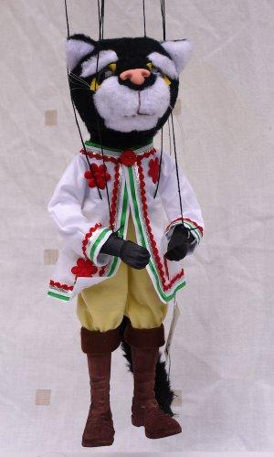 Augsburger Puppenkiste Marionette - Kater Mikesch