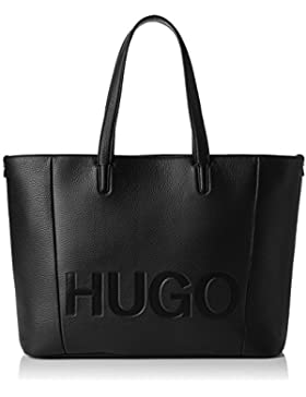 HUGO Damen Mayfair Shopper Schultertasche, 15x29x44 cm