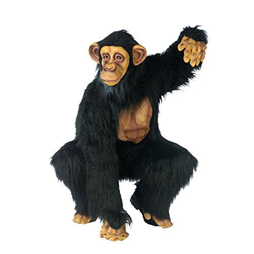 Schimpanse Kostüm für (Erwachsene Handschuhe Schimpansen)