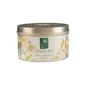 Wax Lyrical Royal Horticultural Society Sweet Pea Tin Candle