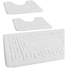 Tappeti bagno 3 pezzi for Amazon tappeti bagno