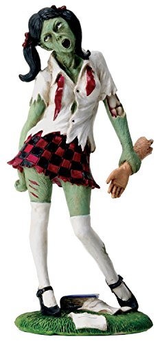 UNIFORMED Schule Mädchen Zombie mit Arm in Hand Figur Statue Display