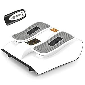 Elektrisches Fußpedal, Das Beintrainer Und Physiotherapiemaschine Im Sitzen Für Senioren, Vibrationen Zur Schmerzlinderung Und Förderung Der Gesundheit Und Durchblutung