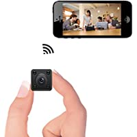 Mini WiFi Camera – Bysameyee Wireless Hidden Spy Cam with Motion Detection Night Vision, HD 720P IP Video Recorder with Mobile Live View