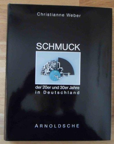 Schmuck der 20er und 30er Jahre in Deutschland. Künstlerschmuck des Art Déco und der Neuen Sachlichkeit