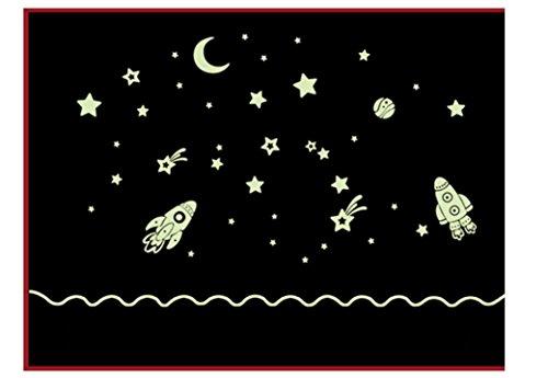 saingacer-cartoon-home-decals-decor-glow-in-the-dark-wall-sticker-cosmic-star-spaceship