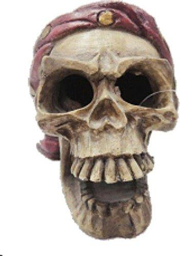 Poppy Pet ym-370Unterwasser Pirat Skull Totenkopf, 4von 5von 10,2cm (Piraten-totenkopf-dekor)
