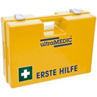 """Erste-Hilfe-Koffer ultraBOX """"BASIC"""", mit Füllung DIN 13157, gelb preisvergleich bei billige-tabletten.eu"""
