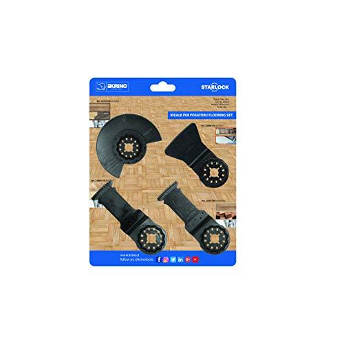 Galleria fotografica Krino 23430101 - Set Accessori per Utensili Multifunzione - Pavimenti e Installazioni, Attacco Starlock