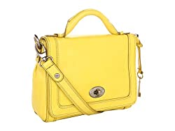 Fossil Marlow Flap Handbag in Citrus