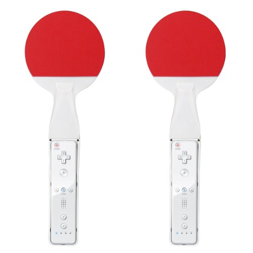 Tischtennis-Schläger-Set für Wii
