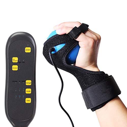 Elektrische Handmassage Ball Hot Compress Schlaganfall Hemiplegie Finger Rehabilitation Training Maschine Finger Recovery Ausrüstung - Recovery-maschine