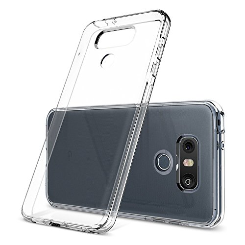 7 99 coque lg g6 spigen liquid crystal transparente for Housse lg g6