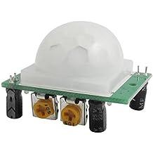 sourcingmap® HC-SR501 IR pyroelektrisch Infrarot PIR Bewegungssensor Detektor Modul M17