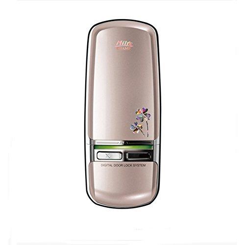 milresystech Champ 2Weg, Lösung zusätzliche Keyless-Elektronische Digital Door Lock Champagne Gold mi350d & Touch-Schlüssel 4 (Champs-taste)