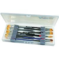 40 St/ück Schaumstoff-Schwamm-Pinsel mit Holzgriff Flecken / Kunst Handwerk best/ändig und ideal f/ür Acrylfarben Lacke Pinsel-Set /leicht 5 cm