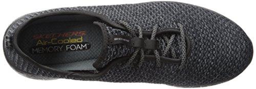 Skechers Herren Burst-Donlen Sneaker Schwarz (Black)