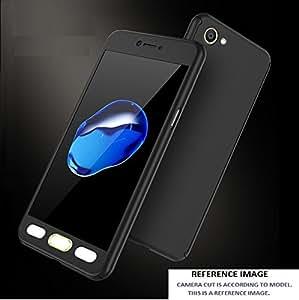 REDMI 4 CASE AE (TM) ORIGINAL 100% 360 Degree XIAOMI REDMI 4 (SENSOR VERSION) Front Back Cover Case WITH TEMPERED BLACK