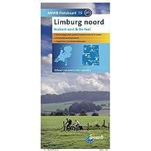 Fietskaart 19 Limburg Noord 1 : 50 000: Brabant oost & De Peel (ANWB fietskaart (19))
