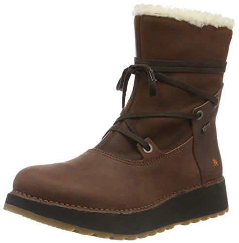 art HEATHROW, Bottines à doublure froide femme Marron (Brown)