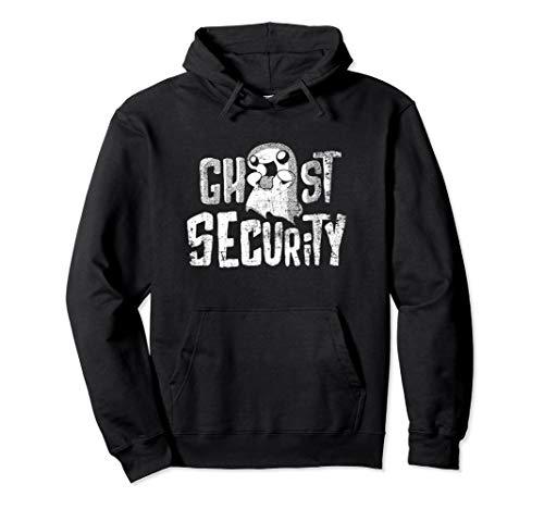 Ghost Einfach Kostüm - Einfaches Halloween Ghost Security Kostüm Pullover Hoodie