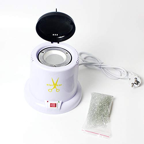 DEAR-JY Sterilisator, Metallschere Pinzette Mini-Nagel Werkzeug Desinfektionsschrank Hochtemperatur-Antivirus-Sterilisationsbecher, Nagel Spezial
