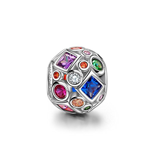 NinaQueen - Colourful life - 925 Sterling Silver Charms