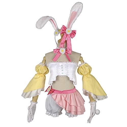 Hzd Vocaloid Hatsune Miku Kaninchen Anime Cosplay Kostüme Japanische Cosplay Anzüge,L (Hatsune Miku Anime Kostüm)