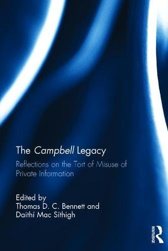 The Campbell Legacy: Reflections on the Tort of Misuse of Private Information