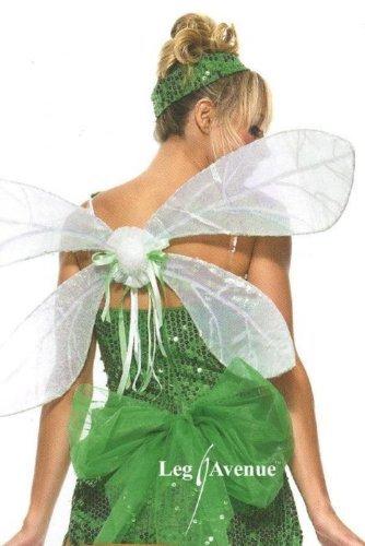 Leg Avenue 2069 - Schillernde Elf Flügel, Einheitsgröße, Damen Karneval Kostüm - Erwachsene Pixie-kostüme Für