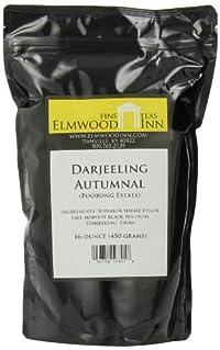 Elmwood Inn Fine Teas, Darjeeling Autumnal Avongrove FTGFOP-1 Organic Black Tea, 16-Ounce Pouch
