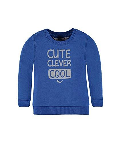 Kanz Jungen Sweatshirt 1726627, Blau (Strong Blue 3083), 62