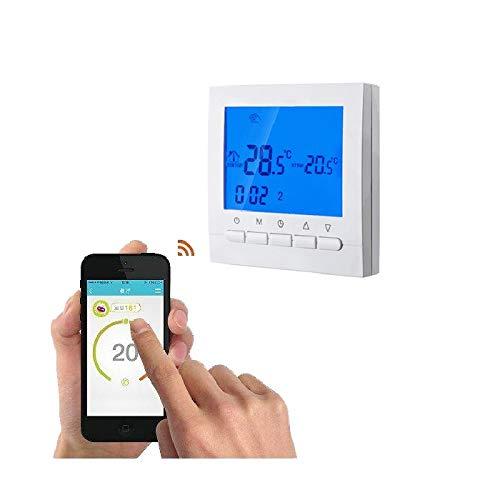 ChaRLes Wifi Thermostat Für Elektrische Heizung Gesteuert Für Ios Und Android Smart Phone Programmierbare Wifi Thermometer