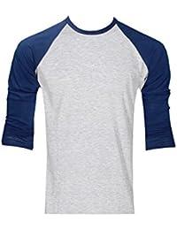 5e49ea352a4e Raftaar® T-Shirt de Baseball Manches Longues Raglan