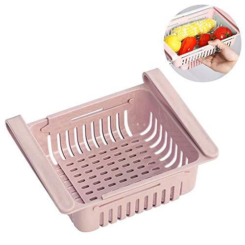 Baiwka Kühlschrank Organizer Schublade, Kühlschrank Ausziehbar   Verstellbarer, Lebensmittelfrisch Haltbarer, Klassifizierter Organizer-Behälterkorb Für Kühlschränke Mit Platzsparfunktion