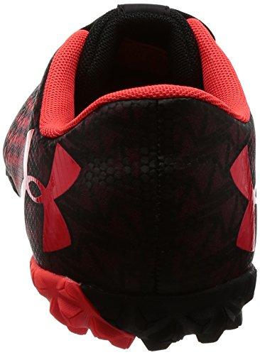 Under Armour Chaussures de Football noir/rouge