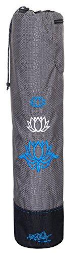 Yogatasche Tashev Lotus Yogamattentasche Yoga-Bag Blau & Weiß
