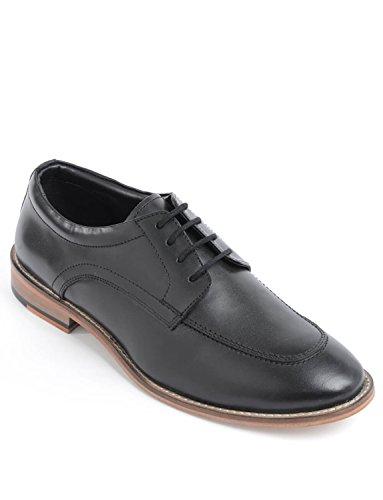 Chaussure De Luxe Hommes En Cuir Dentelle Noir