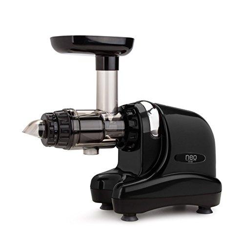 Neo Slow Juicer DA-1000 / Entsafter / Horizontaler Entsafter / Saftpresse - extrem leise - 200 Watt - BPA frei - 20 Jahre Garantie auf den Motor