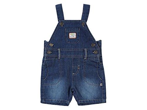 JACKY Kurze Latzhose aus Jeans Blau für Jungen (86, Blau)