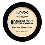 NYX Professional Makeup High Definition Finishing Powder Polvere Compatta, Finish Matte, Riduce le Zone Lucide, Tonalità Banana