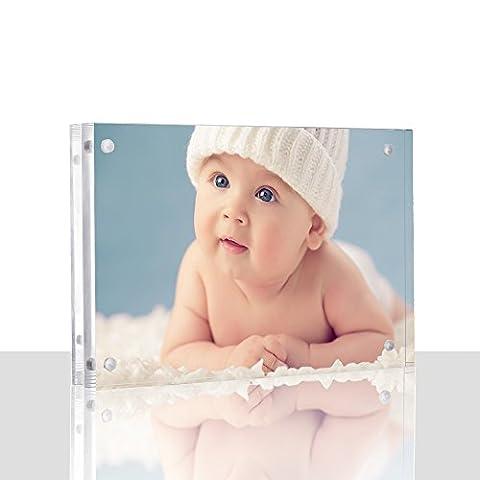 Premium Acrylic Clear Photo Frame – Lmeison 4